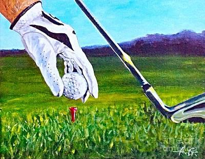 Golfing  Original by Alexander Gatsaniouk