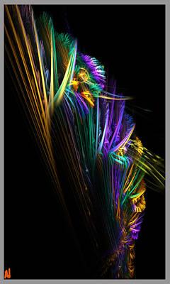 Abstract Digital Art Digital Art - Gone Fishing by Adam Vance