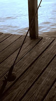 Gone Fishing Photograph - Gone Fishing by Karen Musick