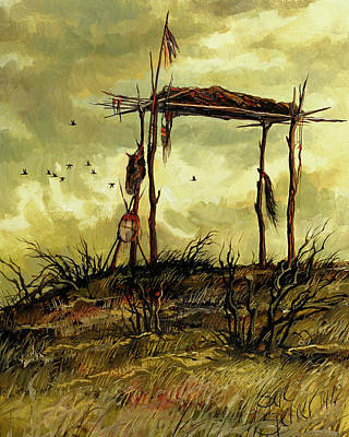 Hope Painting - Gone To The Spirit Trail by Steve Spencer