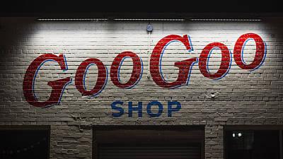 Storefront Photograph - Goo Goo by Stephen Stookey