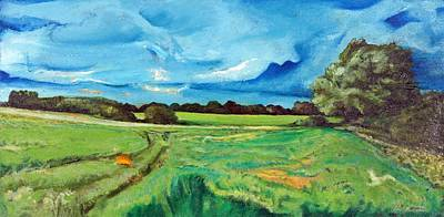 Sudbury Painting - Good Evening by Maxine Cameron