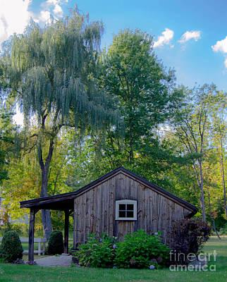 Charming Cottage Digital Art - Good Faith Honey House by Sabrina Ramina