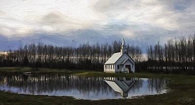 Hallmark Painting - Good Morning - Hope Valley Art by Jordan Blackstone
