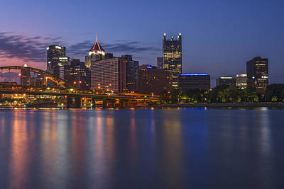 Good Morning Pittsburgh Print by Rick Berk