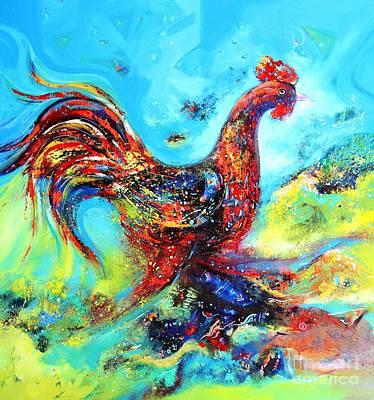 Painting - Good Morning by Sanjay Punekar