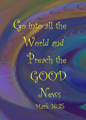 Good News Print by Trish Jenkins