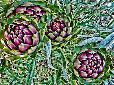 Artichoke Digital Art - Good To Eat by Ronald Talley