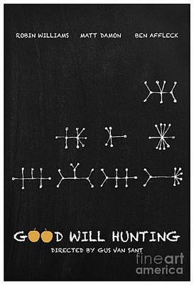 Ben Affleck Digital Art - Good Will Hunting by Blackwater Studio