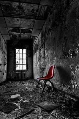 Asylum Photograph - Goodbye Inocence by Evelina Kremsdorf