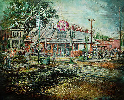 Painting - Goodbye K N B by Charles Simms