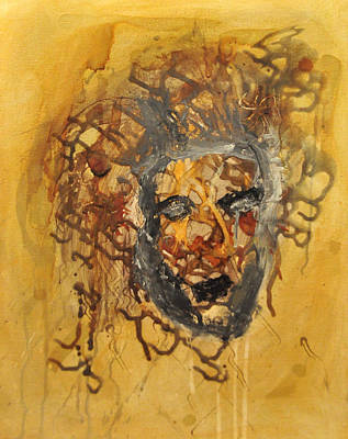 Gorgon Painting - Gorgoneion by Morgan