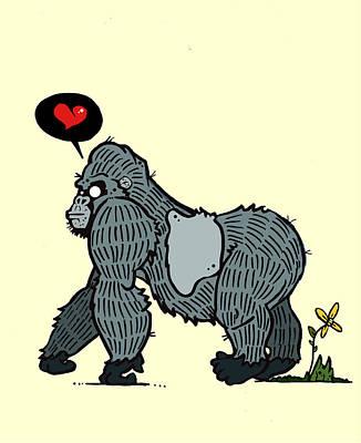 Gorilla Love 3 Original by Nicole Wilson