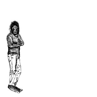 Gorilla Drawing - Gorilla Man by Karl Addison