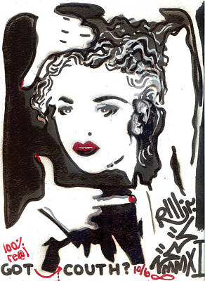 Madonna Mixed Media - Got Couth by Robert Wolverton Jr