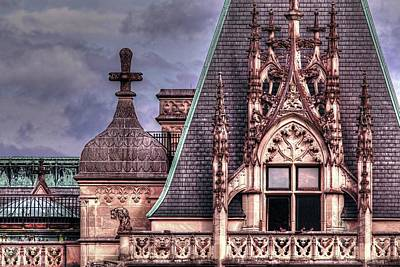 Asheville Photograph - Gothic Architecture  by Carol R Montoya