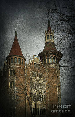 Mansion Digital Art - Gothic Style by Svetlana Sewell