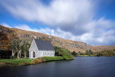 Gougane Barra Church Photograph - Gougane Barra, Ballingeary, Cork by Philip Mulhall
