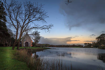 Gougane Barra Photograph - Gougane Barra Sunset by John Hurley