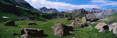 San Juan Mountain Range Photograph - Governors Basin Rocky Mountains Co by Panoramic Images