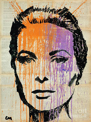 Grace Kelly Painting - Grace .colour  by Marat Cherny