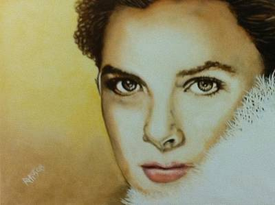 Grace Kelly Painting - Grace Kelly by David Rhys