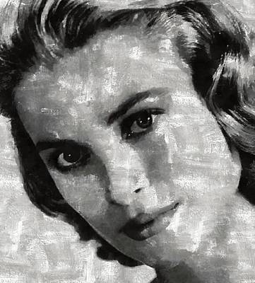 Grace Kelly Painting - Grace Kelly by Mary Bassett