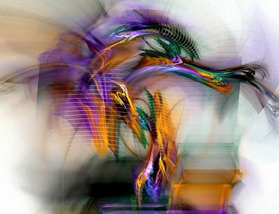 Fractal Digital Art - Graffiti - Fractal Art by NirvanaBlues