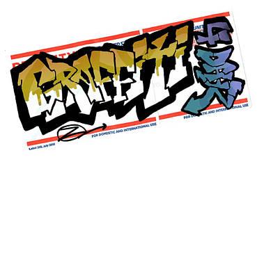 Counterculture Drawing - Graffiti 4 Dayz by Ben Shurts