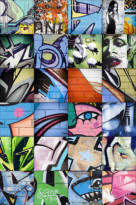 Graffiti Art For The Home Mixed Media - Graffiti by Catherine Jones