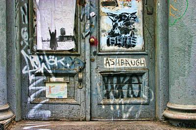 Graffiti Door Print by June Marie Sobrito