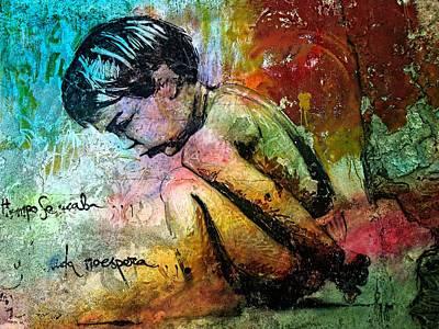 Graffiti Print by Jean Francois Gil