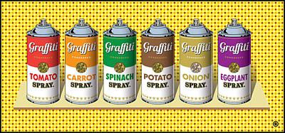 Decorative Painting - Graffiti Tools by Gary Grayson