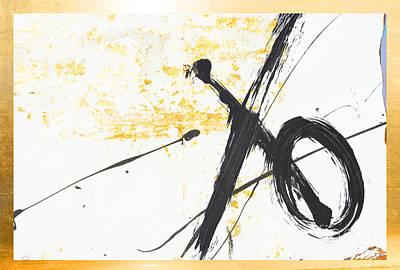 Teen Graffiti Mixed Media - Graffiti Xo Gold Collage by WALL ART and HOME DECOR