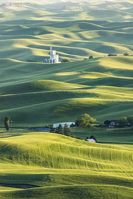Farming Photograph - Grain Factory by Jon Glaser