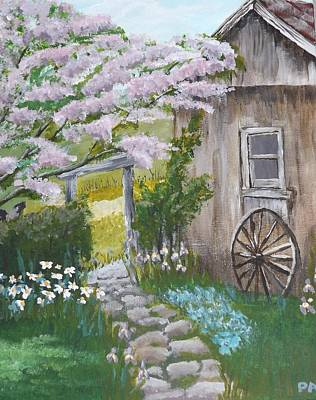 Painting - Gramma's House by Pamela Anderson