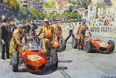 Decoraci Painting - Gran Prix by Federico Arcangeli