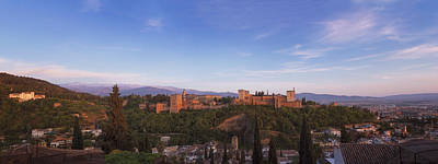 Snow Forts Photograph - Granada Panorama by Joan Carroll