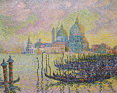 Pointillist Painting - Grand Canal by Paul Signac