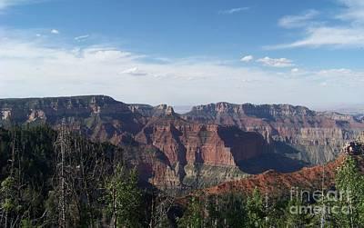 Grand Canyon National Park Photograph - Grand Canyon From Vista Encantada by Charles Robinson
