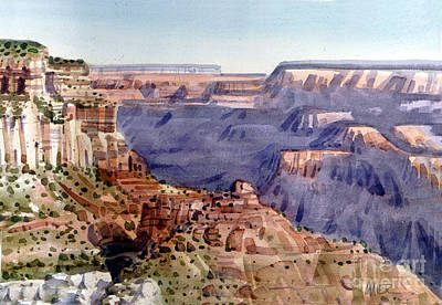 Grand Canyon Morning Original by Donald Maier