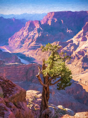 Grand Canyon West Print by Impressionist Art