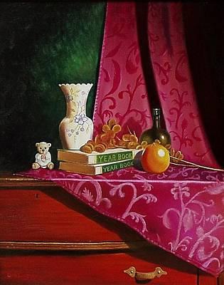Grand Ma's Dresser Print by Gene Gregory