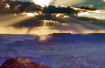 Grand Canyon Photograph - Grand Sunlight by Ricky Barnard