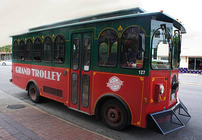 Grand Trolley Print by Art Spectrum