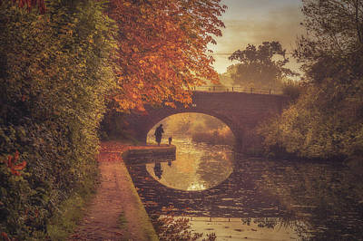 Grand Union Canal No 6 Print by Chris Fletcher