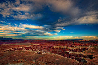 Grand View Point Print by Rick Berk