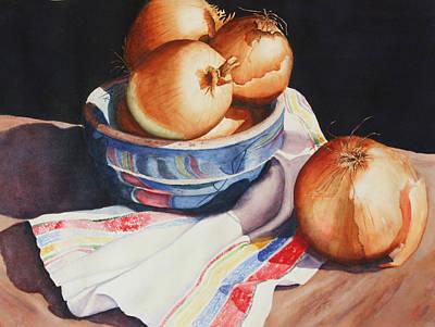 Grandma's Bowl Original by Marsha Chandler