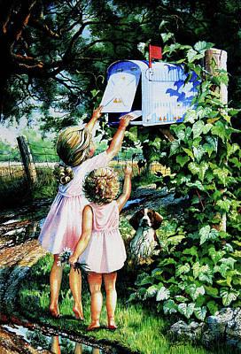 Grandmas Letter Original by Hanne Lore Koehler