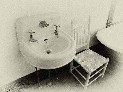 Faucet Digital Art - Grandpa's Sink by Tony Grider